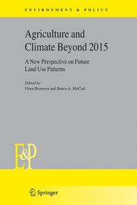 Agriculture and Climate Beyond 2015