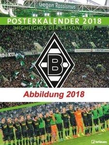 Borussia Mönchengladbach Posterkalender 2019