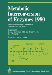 Metabolic Interconversion of Enzymes 1980