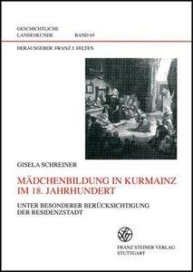 Mädchenbildung in Kurmainz im 18. Jahrhundert