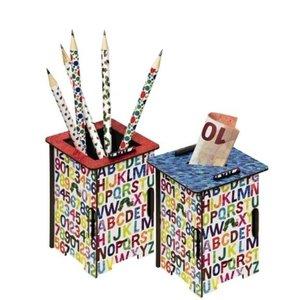 Die kleine Raupe Nimmersatt - Twinbox Spardose oder Stiftehalter