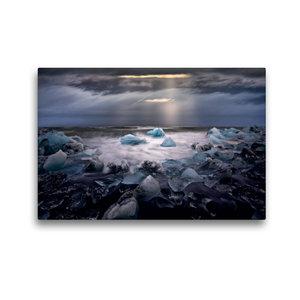 Premium Textil-Leinwand 45 cm x 30 cm quer Fragile World