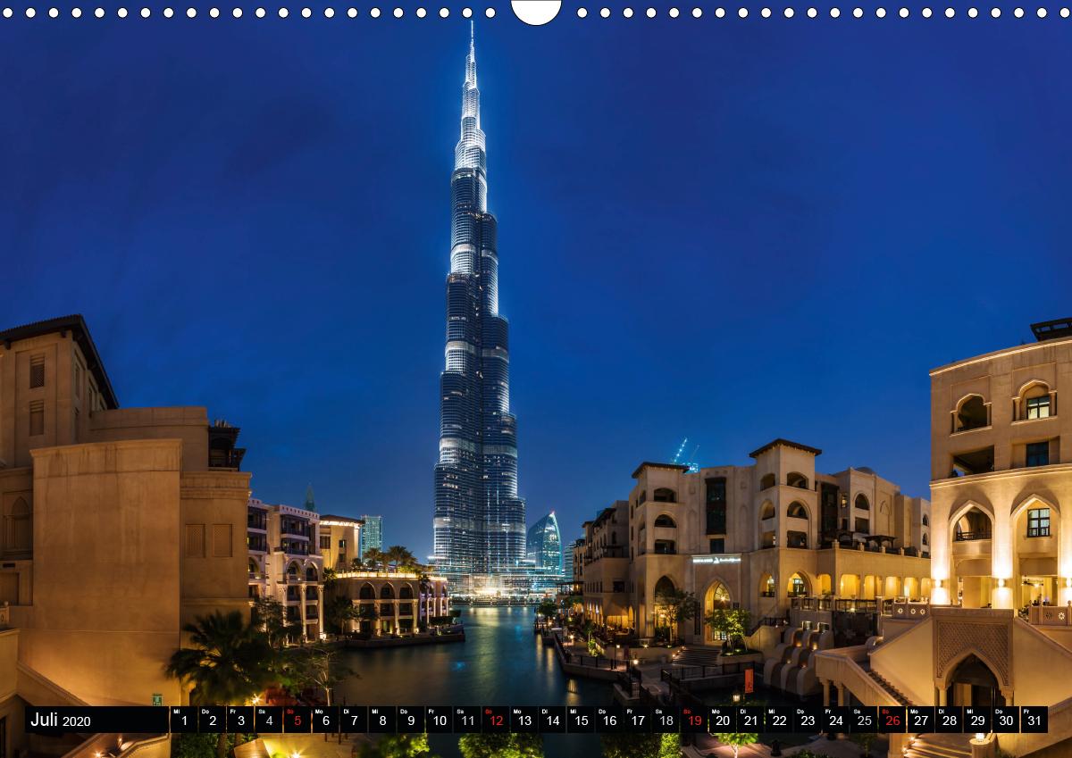 Dubai - Eine künstliche Stadt (Wandkalender 2020 DIN A3 quer) - zum Schließen ins Bild klicken