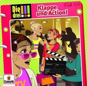 Die drei !!! 54: Klappe und Action!, 1 Audio-CD
