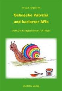 Schnecke Patricia und karierter Affe