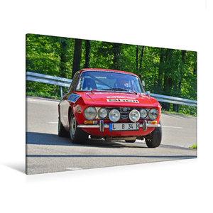 Premium Textil-Leinwand 120 cm x 80 cm quer Alfa Romeo GTV Bj.1