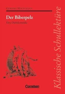 Hauptmann, G: Biberpelz/m. Mat.