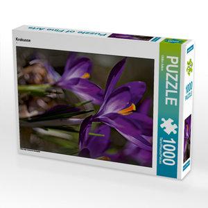 Krokusse 1000 Teile Puzzle hoch