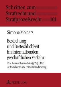 Bestechung und Bestechlichkeit im internationalen geschäftlichen
