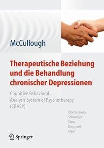 Therapeutische Beziehung und die Behandlung chronischer Depressi