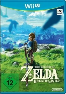 The Legend of Zelda: Breath of the Wild, 1 Nintendo Wii U-Spiel