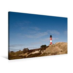 Premium Textil-Leinwand 75 cm x 50 cm quer Leuchtturm