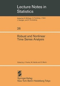 Robust and Nonlinear Time Series Analysis