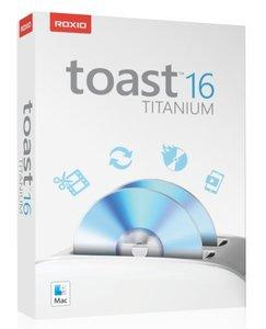 Roxio Toast 16 Titanium, 1 DVD-ROM (Mac)