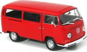 Welly VW Bus T2 1972 rot