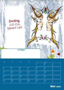 Sternzeichen ? Geburtstagskalender / Planer