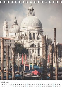 Venedig - Stille Ansichten (Tischkalender 2019 DIN A5 hoch)
