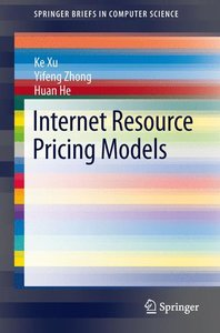 Internet Resource Pricing Models