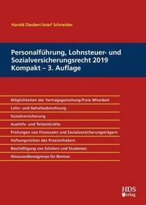 Personalführung, Lohnsteuer- und Sozialversicherungsrecht 2019 K