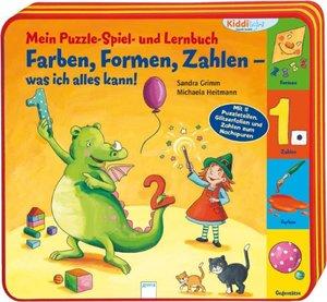 Mein Puzzle-Spiel- und Lernbuch: Farben, Formen, Zahlen - was ic