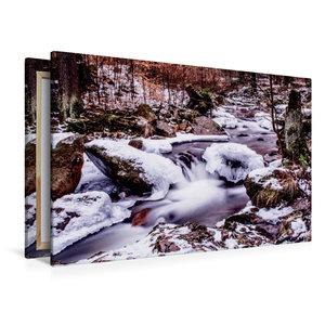 Premium Textil-Leinwand 120 cm x 80 cm quer Ilsefälle