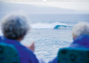 Surfing Hawai'i (Posterbuch DIN A4 quer)