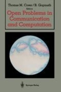 Open Problems in Communication and Computation
