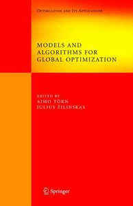 Models and Algorithms for Global Optimization