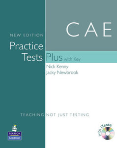 Practice Tests Plus CAE New Edition Students Book with Key/CD-RO