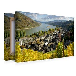 Premium Textil-Leinwand 45 cm x 30 cm quer Bacharach