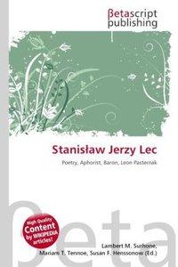 Stanis aw Jerzy Lec