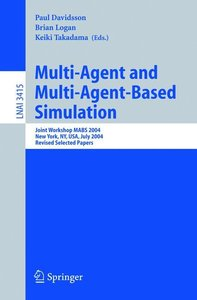Multi-Agent and Multi-Agent-Based Simulation