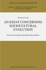 An Essay Concerning Sociocultural Evolution