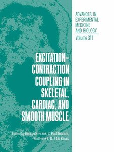 Excitation-Contraction Coupling in Skeletal, Cardiac, and Smooth