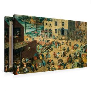 Premium Textil-Leinwand 75 cm x 50 cm quer Kinderspiele - 1560