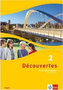 Découvertes 2. Ausgabe Bayern. Arbeitsheft mit Lösungen und CD-R