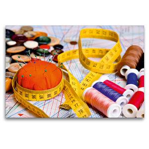 Premium Textil-Leinwand 120 cm x 80 cm quer Material zum Nähen