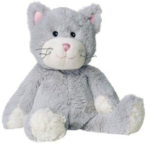 Wärmestofftier Warmies Katze grau