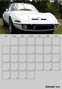 Opel GT Terminplaner (Wandkalender 2019 DIN A2 hoch)