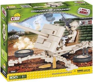 COBI 2189 - SMALL ARMY, Ordnance QF 2 Pounder, Panzerabwehrkanon