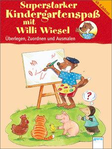 Superstarker Kindergartenspaß mit Willi Wiesel