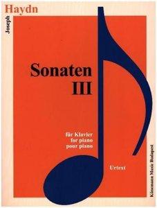 Haydn, Sonaten III