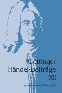 Göttinger Händel-Beiträge, Band 12
