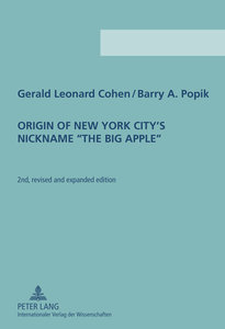 Origin of New York City's Nickname 'The Big Apple'