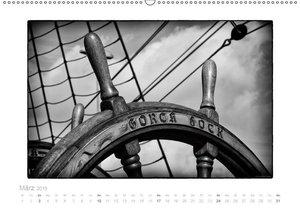 Gorch Fock - zeitlose Eindrücke (Wandkalender 2019 DIN A2 quer)