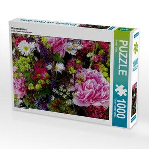 Rosenstrauss 1000 Teile Puzzle quer