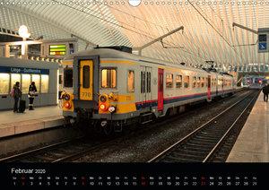 Europäische Eisenbahnen im Auge der Kamera