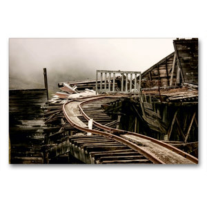 Premium Textil-Leinwand 90 cm x 60 cm quer Independence Mine am