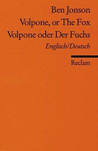 Volpone oder Der Fuchs / Volpone, or The Fox