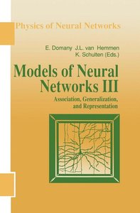 Models of Neural Networks 3